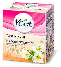Купить <b>Воск для депиляции</b> теплый Veet Жасмин, 250 мл с ...