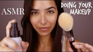 ASMR <b>Big</b> Sister Does Your Makeup (Personal Attention, <b>Face</b> ...