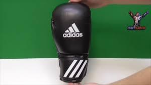 Боксерские <b>перчатки Adidas Speed 50</b> черные - YouTube