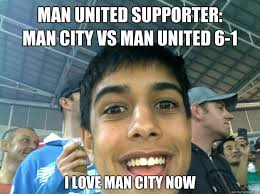 MAN UNITED SUPPORTER: MAN CITY VS MAN UNITED 6-1 I LOVE MAN CITY ... via Relatably.com