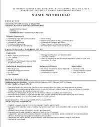listing resume services