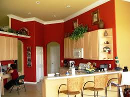 kitchen walls white cabinets accent