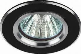 <b>Встраиваемый светильник ЭРА KL58</b> SL/BK. Диаметр отверстия ...