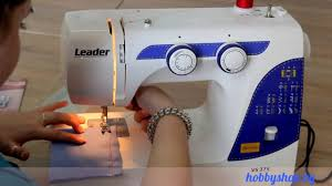 <b>Швейная машина Leader VS</b> 375 - Обзор ХоббиШоп - YouTube