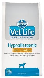 <b>Корм</b> для собак <b>Farmina Vet</b> Life при аллергии, рыба с ...