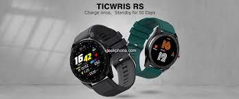 <b>TICWRIS RS</b> Review: <b>Smartwatch</b> with 50 Days Standby at $32.99