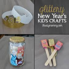 New Year Craft Ideas New Year S Crafts For Kids Party Hats Time Capsule Noise