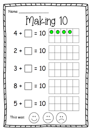 Year 1 Making 10 Maths worksheet by nikkiw_267 - Teaching ...Year 1 Making 10 Maths worksheet
