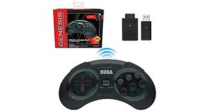 <b>Genesis</b> Shadow 8 Button 2.4 GHz Wireless <b>Controller</b> [<b>Retro</b>-Bit ...