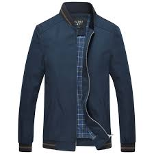 <b>New Spring Autumn</b> Jackets Men Business Casual Thin Stand ...