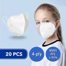 <b>20 Pcs</b> Disposable Face Masks for <b>Kids</b> (<b>KN95</b>) – Next Deal Shop