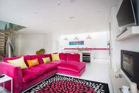 living roompink sofas unexpected touch color living room 1 1 beautiful color in the beautiful sofa living room 1 contemporary