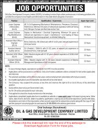 ogdcl jobs application form engineers internal ogdcl jobs 2016 application form engineers internal auditors scm material officers latest