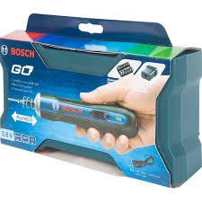 <b>Отвертка</b> аккумуляторная <b>Bosch Go</b>, 3.6 В Li-Ion 1.5 Ач, набор бит ...