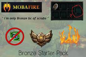 Bronze Starter Pack via Relatably.com