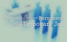 differences between permanent and temporary job infographic differences between permanent and temporary job infographic com blog