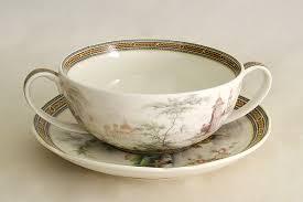 """<b>Суповая чашка</b> на <b>блюдце</b> """"Замок"""", 0,4 л"""