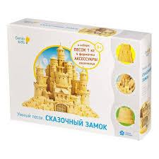 Купить <b>кинетический песок</b> Умный песок Сказочный замок <b>Genio</b> ...