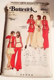 1970s Mary Quant Boho Maxi Skirt <b>Knit straight pants</b> jacket in <b>2019</b> ...