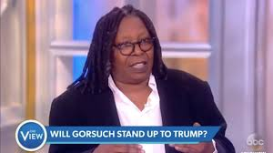 whoopi goldberg says trump s supreme court pick can t overturn