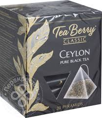 Купить <b>Чай черный Tea</b> Berry Classic Цейлон 20 пак с доставкой ...