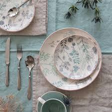 4 <b>десертных</b> тарелки erbal набивной рисунок <b>La Redoute</b> Interieurs