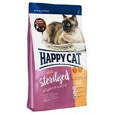<b>Happy Cat Adult</b> Sterilized Атлантлантический лосось для ...