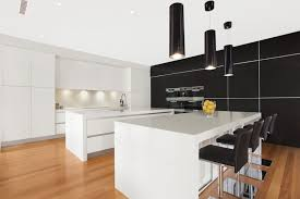 ideas splendid kitchen island design ideas features with black cylinder pendant light also modern adjustable bar black modern kitchen pendant lights