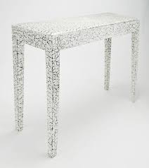 <b>Cracked Eggshell</b> Console table
