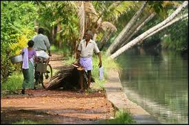 Image result for A VILLAGE IN KERALA