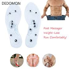 <b>1Pair Shoe Gel Insoles</b> Feet Magnetic Therapy Health Care for Men ...