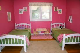 elegant twins bedroom designs for girls