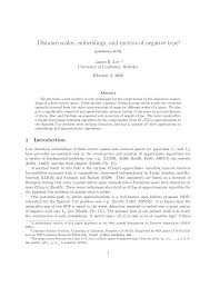 Distance scales, embeddings, and metrics <b>of negative type</b>∗