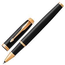 "Ручка-<b>роллер PARKER ""IM Core</b> Black Lacquer GT"", корпус ..."