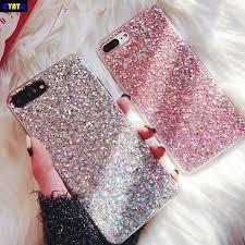 <b>Cyato</b> Original Shining Powder Sequins <b>Case For</b> iphone X 6 6S 7 8 ...