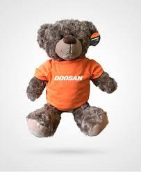 Doosan <b>Teddy Bear 24cm</b> Orange Tee