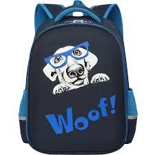 "<b>Ранец</b> ученический ""<b>Woof</b>"", 40x28x14,5 см | Купить с доставкой ..."