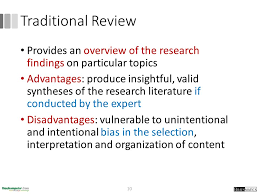 Why Create a Sensitive Search  In many literature reviews