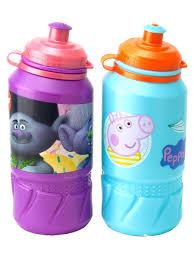 Набор спортивных <b>бутылок</b> 420 мл (2 шт). <b>Свинка Пеппа</b> и ...