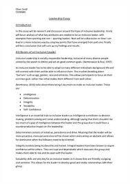 leadership essay conclusion  amanda jimeno characteristics of a good leader leadership essay