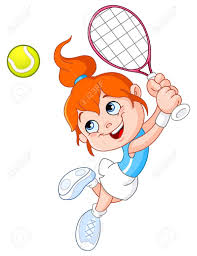 Image result for jouer au tennis