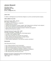 electricengineering samples resumes for  seangarrette coelectrical engineer resume sample for construction