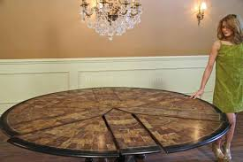 Round Dining Room Tables For 8 Large Round Dining Table Seats 8 High Dining Table