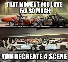 MEME - Fast and Furious 7 greatest fans - Epic Car Stuff via Relatably.com