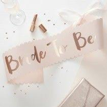 <b>Bride</b> To Be Hen Party Themed Accessories | Ginger Ray