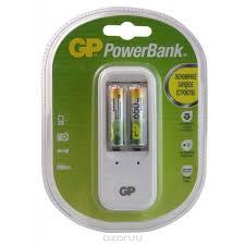 Аккумулятор + <b>зарядное устройство GP PowerBank</b> PB410GS65 ...