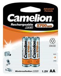 <b>Аккумулятор Camelion</b> 1.2В <b>AA</b>-2700mAh Ni-Mh BL-2,7371 - цена ...