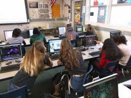 AP Computer Science Principles students at Newbury Park High School in Newbury  Calif   US News   World Report