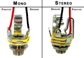wiring mono and stereo jacks for cigar box guitars amps more wiring example annotated