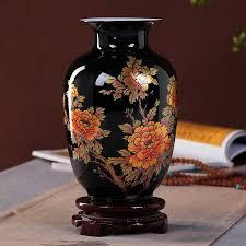 Antique <b>Jingdezhen Ceramic Vase</b> Lucky Egg Powder Enamel Thin ...